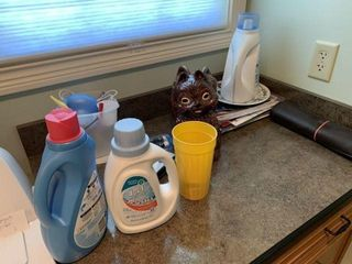 Miscellaneou Contents of Laundry Room