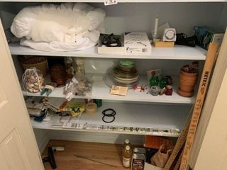 Miscellaneous in Hall Closet