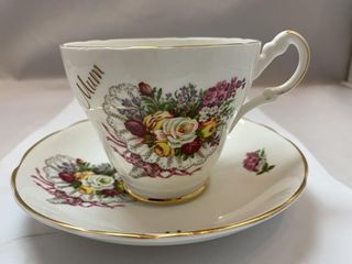 BONE CHINA MADE IN ENGLAND BY ARGYLE