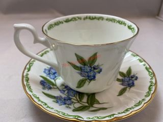 TEA CUP AND SAUCER BY ROYAL KENDAL FINE BONE