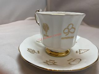 ENGLISH BONE CHINA BY TAYLOR AND KENT CUP AND
