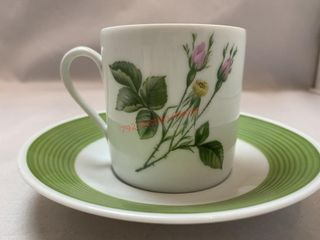 1814 HUTSCHENREUTHER GERMANY CUP AND SAUCER