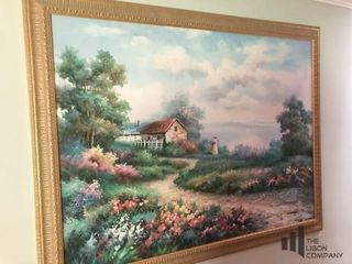 Nature Scene Painting signed by Artist