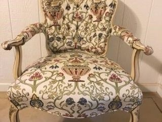 Modern French Style Upholstered Chair