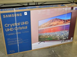 70  4K UHD HDR Samsung lED Tizen Smart TV