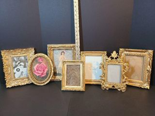 Variety of 7 Picture Frames