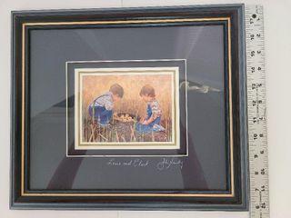 Signed John Newby Print