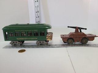 Pre War New York Central Line Car & Jigger