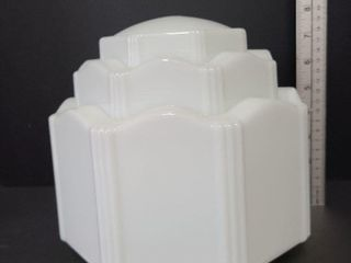 Milk Glass Light Cover