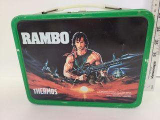 Rambo 1985 Lunch Box