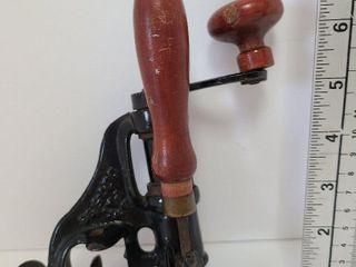 Antique 1893 Patent Bullet Press
