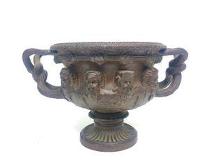 Fantastic 19th Century Bronze Warwick Vase