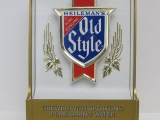 Mint NOS Vintage OLD STYLE Lighted Beer Sign