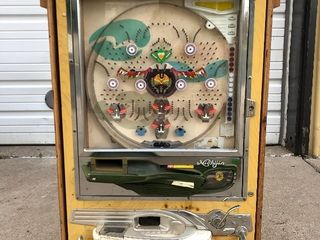 Working Vintage NISHIJIN Pachinko Machine