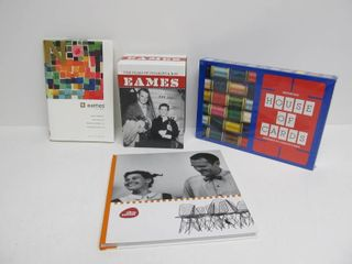 Group of Charles & Ray Eames Design Items - DVD Box Set Book etc