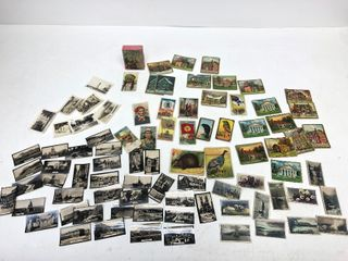 Collection of Antique Tobacco Cards