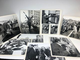 Collection of Large Format RICHARD NIXON Original Photographs by White House Photographer Roddey Mims