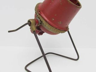 Excellent Old Vintage Cast Metal Cement Mixer Toy or Salesman Sample