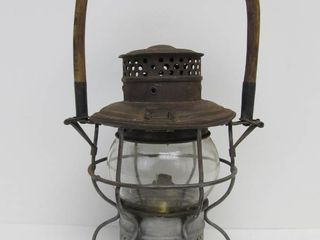 Antique Adams & West Lake SOO LINE Railroad Lantern