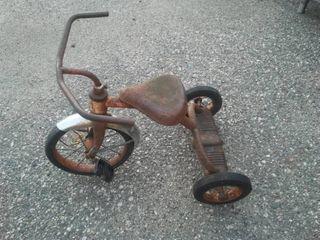 Vintage trike tricycle.
