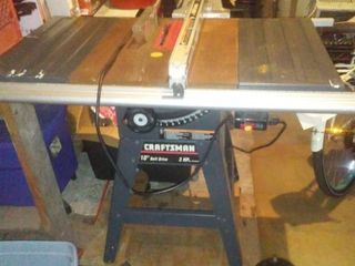 Craftsman Table Saw - excellent