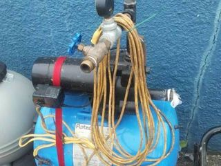 Flotec Pump with tank. working condition.