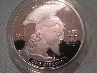 Bitcoin, 2014, Titan one ounce copper