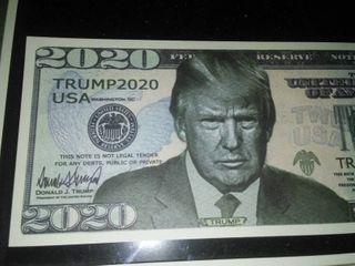 10 Trump 2020 Dollar Bills