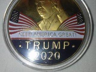 Donald Trump 2020 Coin