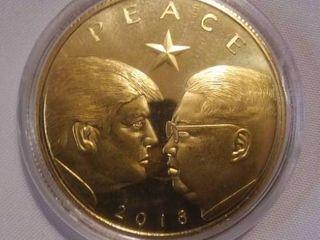 Donald Trump 2018 PEACE Coin.