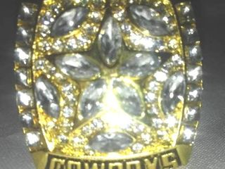 Dallas Cowboys 1995 Super Bowl Ring, Troy Aikman