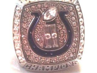 Indianapolis Colts Super Bowl ring. , Peyton Manning,