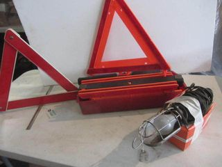 Safety Triangles, 12V Light