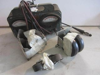 Battery Charger, Dolly Wheels