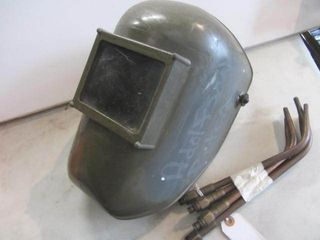 Welding Helmet, Torch Tips