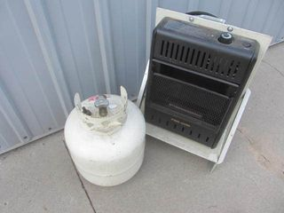 LP Gas Heater, 20lb Tank