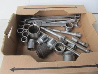 "Socket Set 3/4"" Drive"