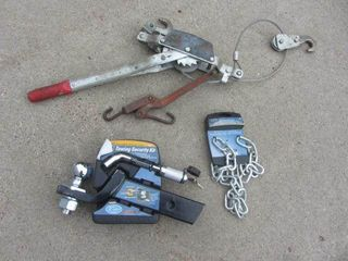 Towing Kit, Chains, Comalong