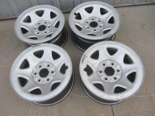 "Chevy Stock 17"" Rims with Sensor"