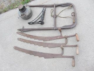 Hay Harpoon, Corn Knives, Harness Hook