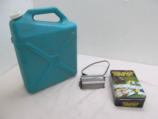 invertor, water container , game