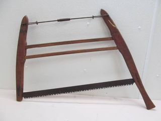 antique bucksaw