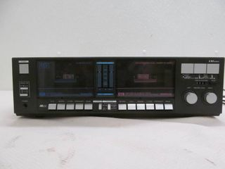 LXI series dual cassette player/ recorder