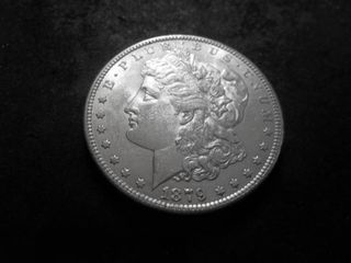 1879 S Morgan Silver Dollar Reverse Of 1878