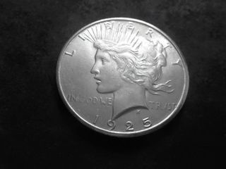 1925 S Peace Silver Dollar