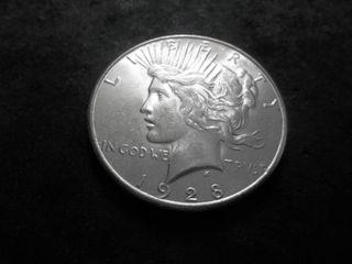 1928 S Silver Peace Dollar