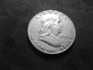 1953 Franklin Half Dollar