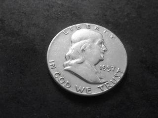 1957 Franklin Half Dollar