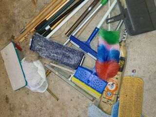 Cleaning Supplies  Dusters  Mops  Brooms  and other Miscellaneous Items