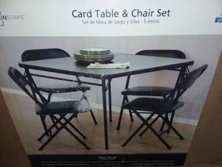 Mainstays Card Table and Chairs Set
